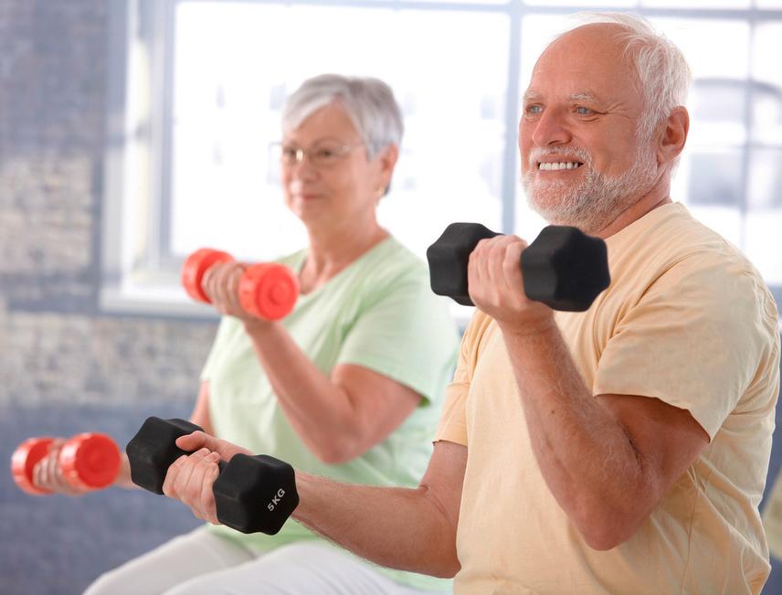 Atividade física: vigor e autoestima para o idoso